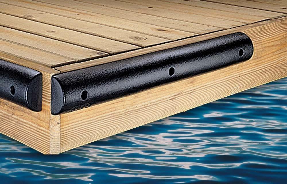 Flat Boat Dock Bumper 4.5Hx2.25Dx36L