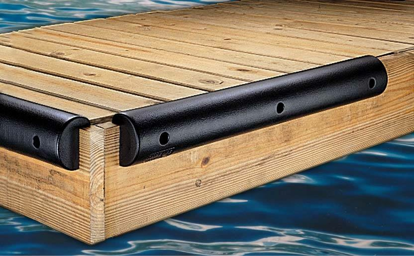 Single Lip Boat Dock Bumper 4.5Hx2.25Dx60L