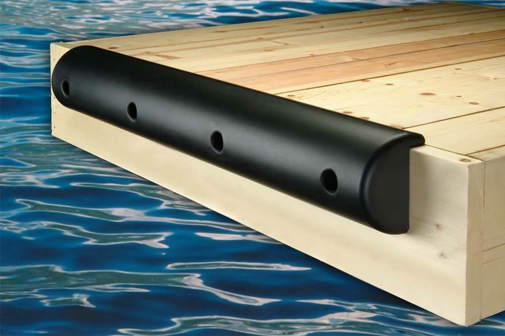 Single Lip Boat Dock Bumper 7.5Hx3.75Dx48L
